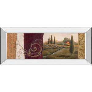 """Tuscan Scene I Mirror Framed Print Wall Art"