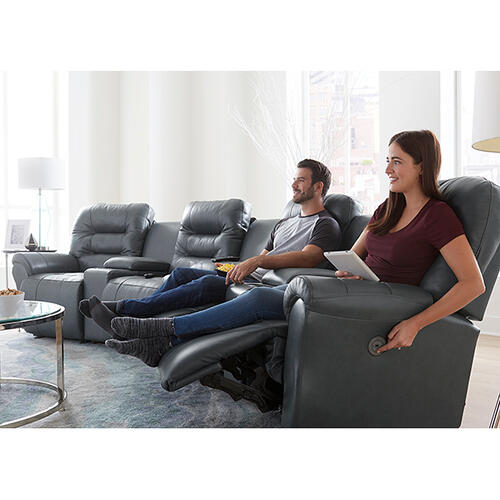 Best Home Furnishings - UNITY THEATER Reclining Sectional