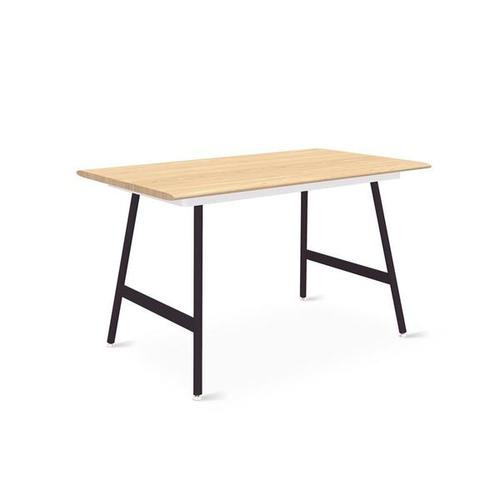 Product Image - Envoy Desk 50 Inch / Blonde Ash/white / Lecture Black
