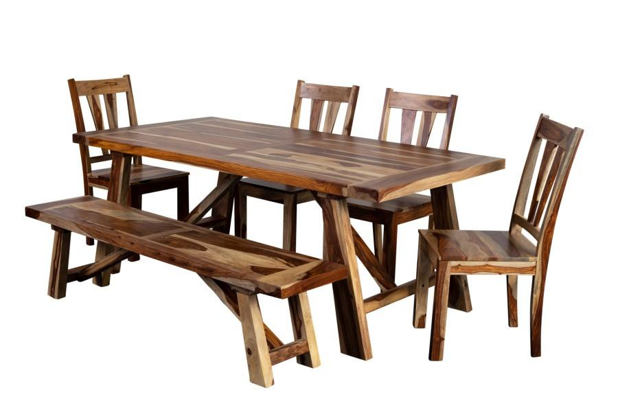 Porter International DesignsKalispell Dining Table Set, Pdu-116