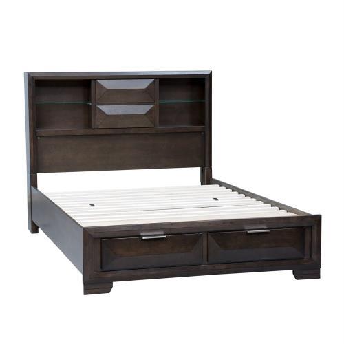 King California Storage Bed