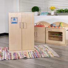 Product Image - Children's Wooden Kitchen Refrigerator for Commercial or Home Use - Safe, Kid Friendly Design
