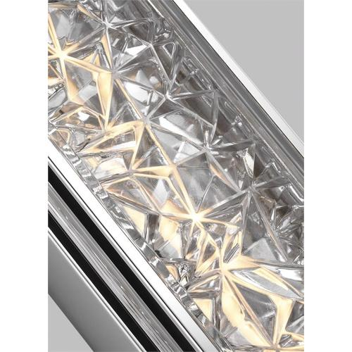 Erin Wall Sconce Polished Stainless Steel Bulbs Inc