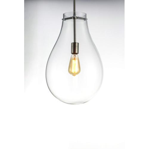 Gourd 1-Light Pendant