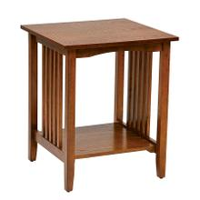 See Details - Sierra Side Table (ash Finish)