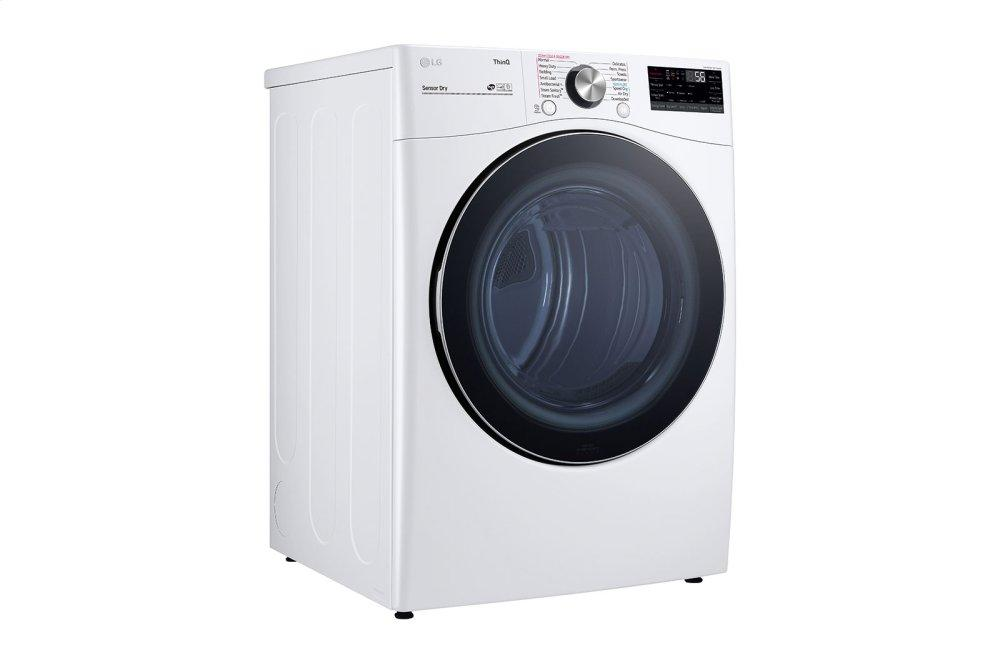 7.4 cu. ft. Ultra Large Capacity Smart wi-fi Enabled Front Load Electric Dryer with TurboSteam™ and Built-In Intelligence Photo #3