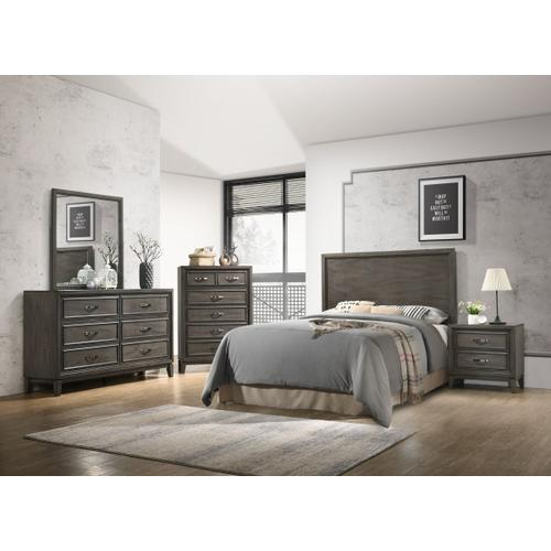 Winchester 6-Drawer Dresser, Grey