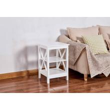 See Details - 6605 White End Table