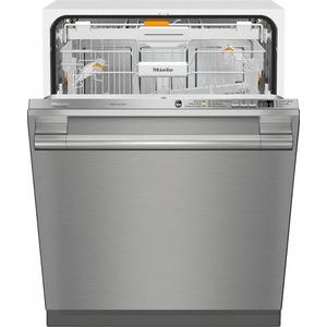 MieleG 6665 SCVi SF AM Fully-integrated, full-size dishwasher with hidden control panel, 3D  cutlery tray and CleanTouch Steel panel