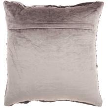 "Life Styles Sc105 Dark Grey 18"" X 18"" Throw Pillow"