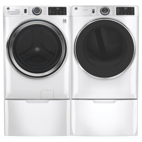 GE® 4.8 cu. ft. Capacity Smart Front Load ENERGY STAR® Steam Washer with SmartDispense™ UltraFresh Vent System with OdorBlock™