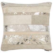 Peyton Pillow - Silver