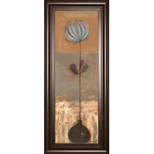 """Solitary Flower I"" By Norman Wyatt Framed Print Wall Art"