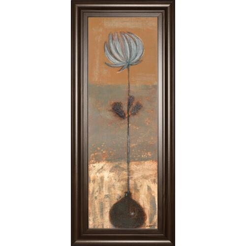 "Classy Art - ""Solitary Flower I"" By Norman Wyatt Framed Print Wall Art"