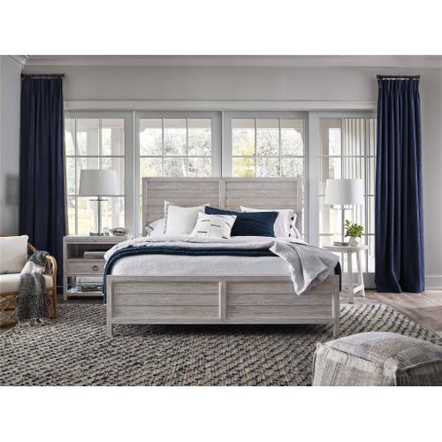 Getaway Panel King Bed