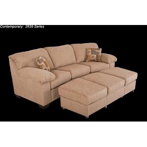 Contemporary Conversation Sofa