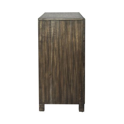 2 Door Wine Accent Cabinet