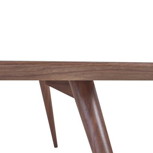 """Bradshaw Rect Dining Table w/ 18"""" Ext., Walnut"""