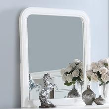 Louis Mirror, White