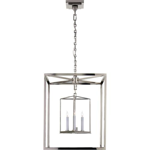 Visual Comfort CHC2217PN E. F. Chapman Osborne 3 Light 18 inch Polished Nickel Foyer Pendant Ceiling Light