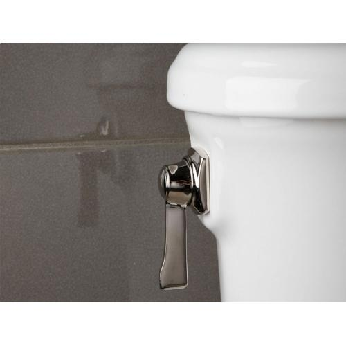 Two-Piece High-Performance Toilet, Less Seat - Stucco White