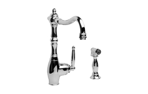Corsica Kitchen Faucet w/ Side Spray Product Image