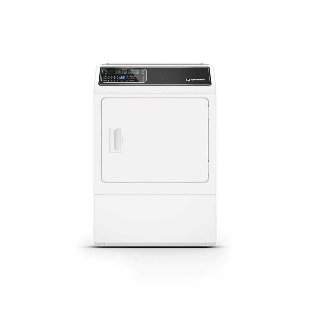 Speed QueenDf7 White Electric Dryer With Front Control  5-Year Warranty