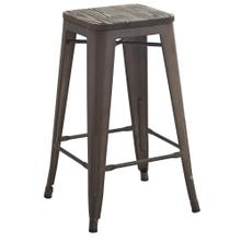 Modus 26'' Counter Stool, set of 4 in Gunmetal