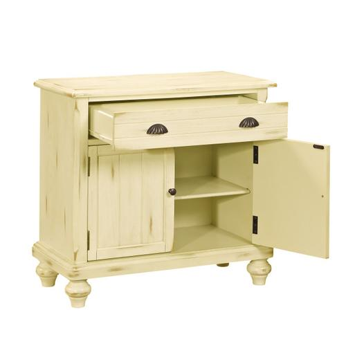 Accentrics Home - Country Door Chest in Buttercream Yellow