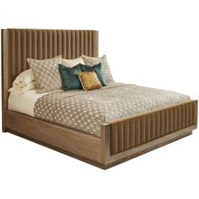 See Details - Woodwright Queen Mulholland Upholstered Bed