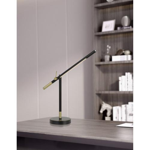 Virton Metal LED 10W, 780 Lumen, 3K Adjustable Desk Lamp