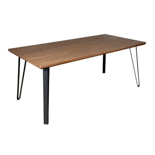 Dining Table, Available in Mahogany Taupe Finish Only.