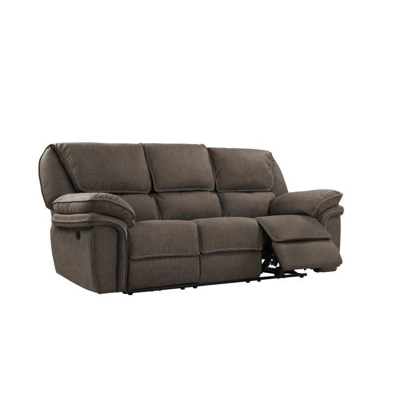 Allyn Power Reclining Sofa, Gray Taupe U7127-18-03