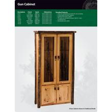 See Details - Hickory Gun Cabinet