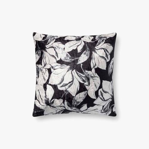 P0754 Black / White Pillow