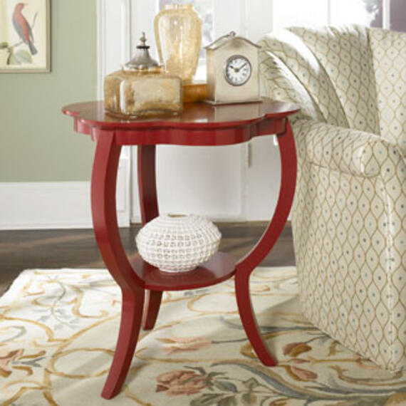 Red Flower Table