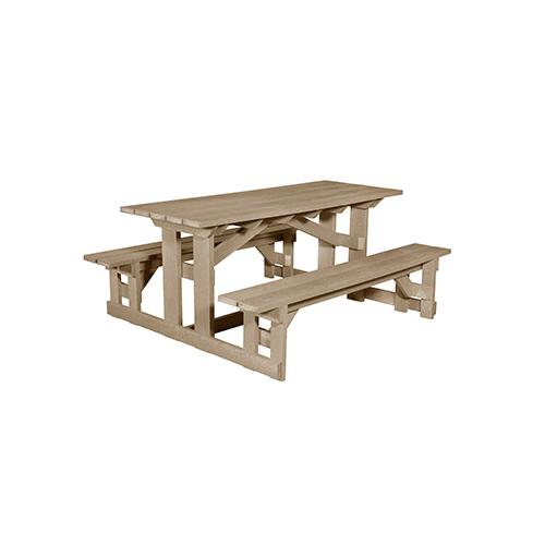 Gallery - T52 RECTANGULAR PICNIC TABLE