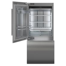 See Details - Combined refrigerator-freezer with BioFresh and NoFrost for integrated use