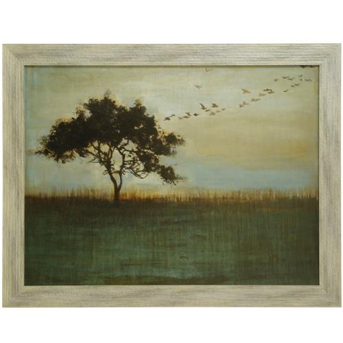 Style Craft - A FLEETING GLIMPSE  36in X 47in  Made in the USA  Textured Framed Print