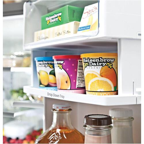 GE Profile™ Series ENERGY STAR® 27.7 Cu. Ft. Smart French-Door Refrigerator with Keurig® K-Cup® Brewing System