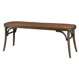 See Details - Evelyn Bench (brown Wash)