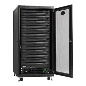 EdgeReady Micro Data Center - 21U, 3 kVA UPS, Network Management and PDU, 120V Assembled/Tested Unit