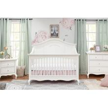 Mirabelle 4-in-1 Convertible Crib in Warm White