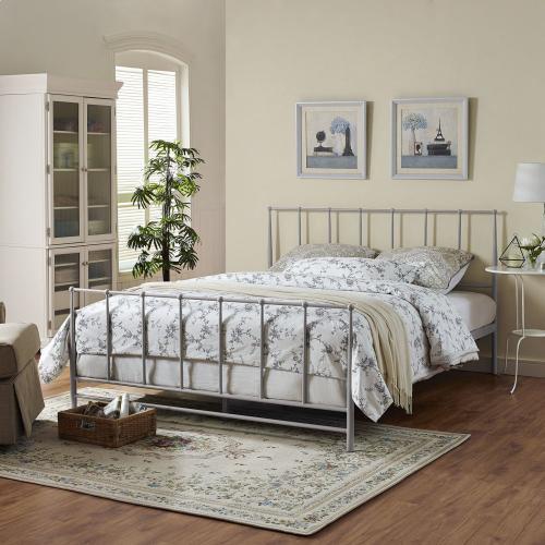 Estate Queen Bed in Gray