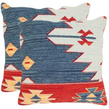 Pueblo Pillow - Blue