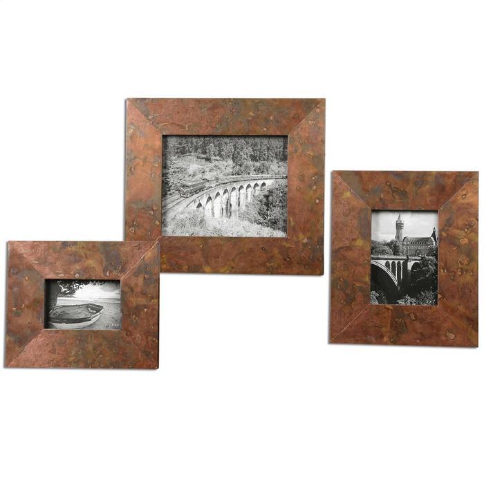 Uttermost - Ambrosia Photo Frames, S/3