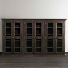 Product Image - Compass Western Brown Emporium Triple Display Cabinet