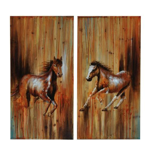 """Crestview Collections - """"FULL GALLOP 1 & 2"""""""