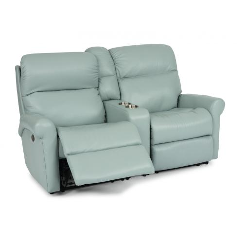 Davis Power Reclining Loveseat with Console