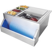 Multi-Functional Beverage Center , Stainless Steel , Electric